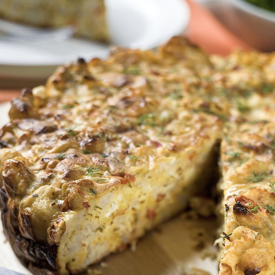 Karfiolový koláč
