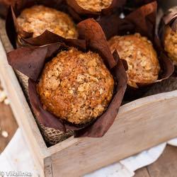 Mrkvičkové slané muffiny